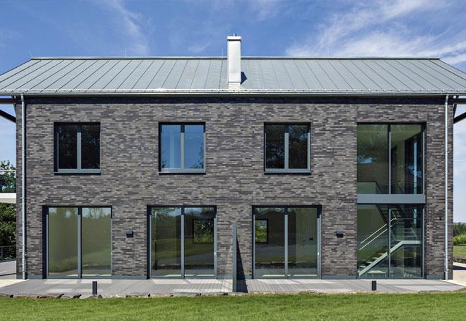 Sprossenfenster Anthrazit Grau